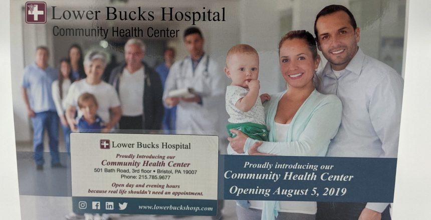 Lower Bucks Magnet Mailer Front